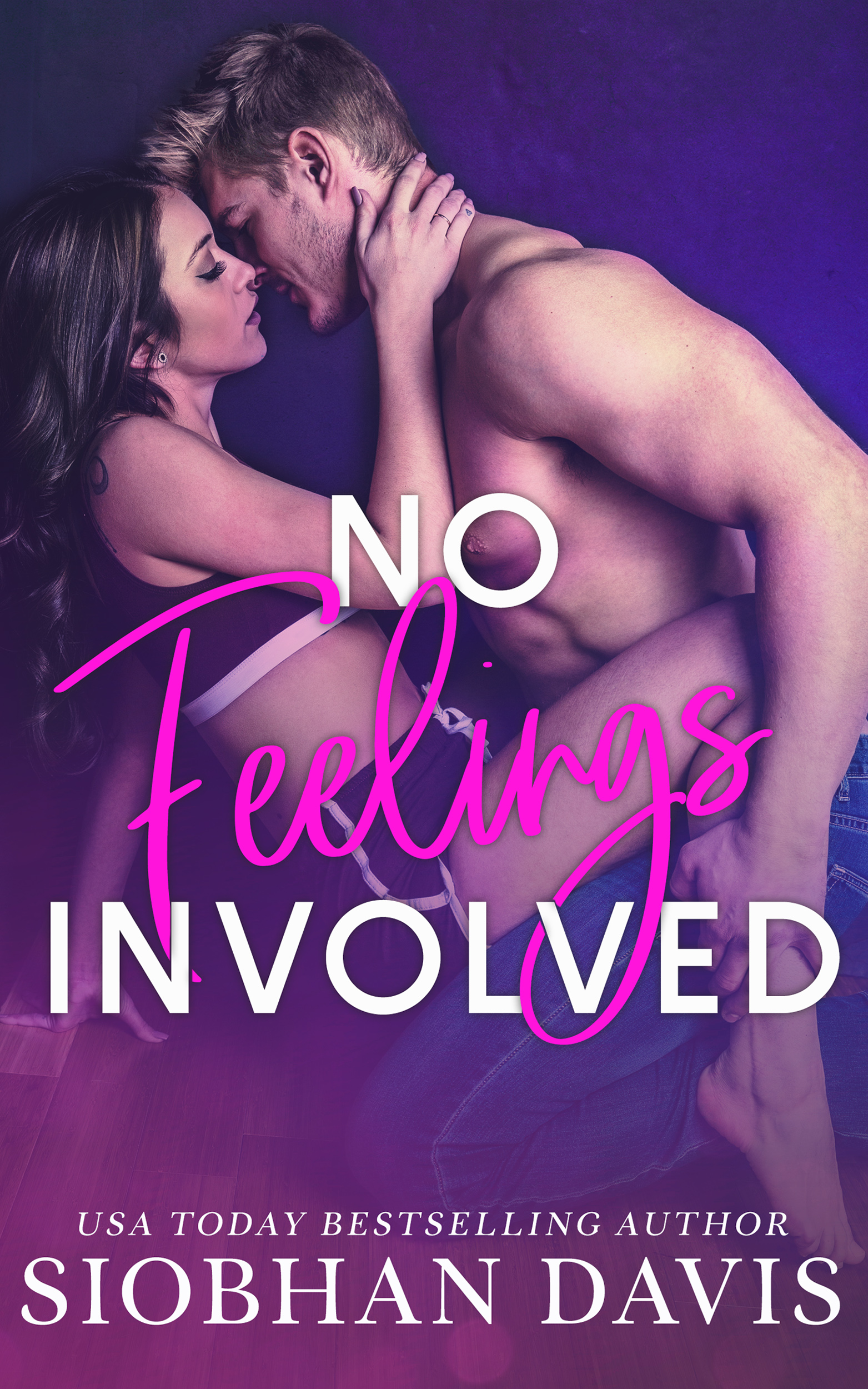 No Feelings Involved by Siobhan Davis book cover